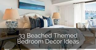 33 beached themed bedroom decor ideas