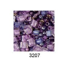 """<b>Бисер</b> ассорти <b>№3207</b> фиолетовый 25гр """"<b>Toho</b>"""" (Япония)"""