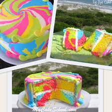 Tie Dye Birthday Cake Designs Roundup Of The Best Summer Cakes Tutorials And Ideas My