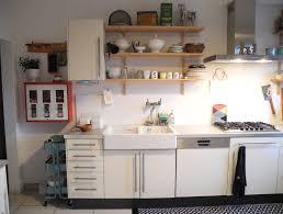 Küche Ikea kombiniert mit 50er Möbeln