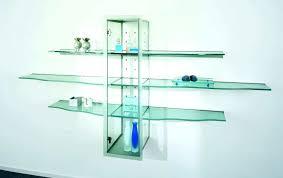 floating glass shelves clear dynamic design simple decor ikea uk clea