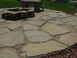 best installing flagstone patio ground cover