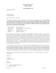 Travel Authorization Letter Travel Authorization Letters Are To Be
