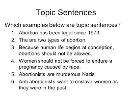 against abortion thesis statements how research paper against abortion thesis statements
