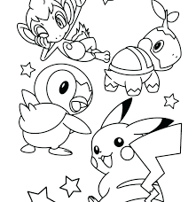 Coloring Pages Pikachu Coloring Pages Easy Coloring Pages For Kids