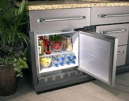 counter beverage refrigerator