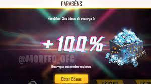 Bônus de Até 100% em Diamantes Dentro do Jogo - FREEFIRENEWS