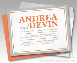 & orange wedding reception only invitations Wedding Reception Only Invitations gray & orange wedding reception only invitations wedding reception only invitations wording