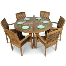 round teak garden table and 6 chairs garden table and chairs round teak garden table and garden table a chairs