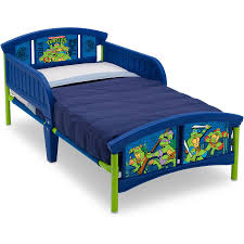Ninja Turtle Bedroom Furniture Nickelodeon Teenage Mutant Ninja Turtles Plastic Toddler Bed
