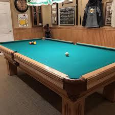 Best Olhausen \u201cgem\u201d 9\u0027 X 4 1/2\u0027 Championship Italian Slate Billiard Table for sale in Davenport, Iowa 2019