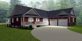 ranch house plans with walkout basement