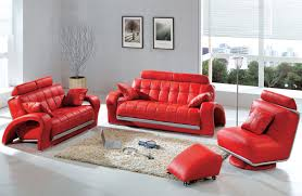 Living Room Chair And Ottoman Set Red Living Room Chairs Zampco