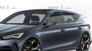 2021 Cupra Leon Rendering Takes After The Spy Shots