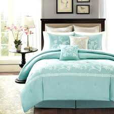 sea green bedding glass