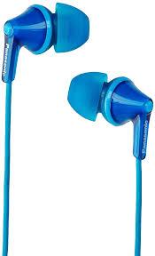 Amazon.com: <b>Panasonic RP</b>-<b>HJE125</b>-A Wired <b>Earphones</b>, Blue ...