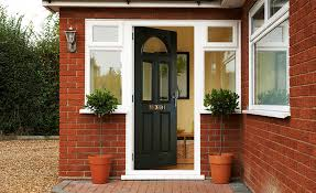 front doors. front and back doors o
