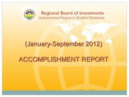 Accomplishment Report - Ppt Video Online Download