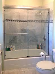 enamour glass shower doors bathtub applied to your home sliding bath tub frameless door menards header