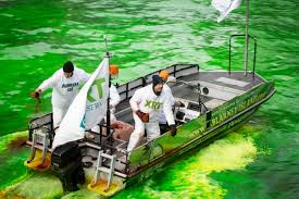 Image result for photo of chicago river green