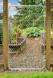 Fit Right Chain Link Fence Walk through Gate Kit 24 72 wide x 4