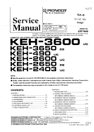 pioneer keh service manual immediate background image