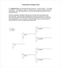 free family pedigree maker generation double ancestor chart 5 pedigree free family generations