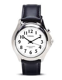 lifemax rnib men s talking watch 411 3 strap amazon co uk lifemax rnib men s talking watch 411 3 strap