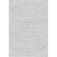 breeze circles beige wool cliff grey area rug 200x290cm rugs and runners dekoria