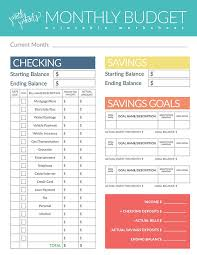 Free Budget Download Budget Worksheet Budgeting Tips Free Download Pretty