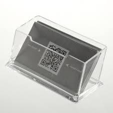 1pcs display stand acrylic plastic new clear desktop business card holder desk shelf box storage hot