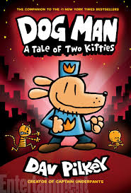 get a sneak k at dav pilkey s new dog man book a tale of two kitties