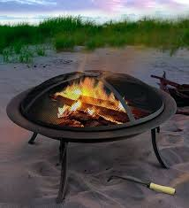 beach portable outdoor fireplace