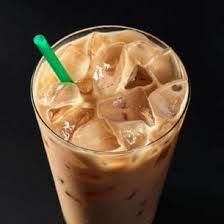 y chai blend of cinnamon black tea and rooibos lightly sweetened and finished with milk and served over ice