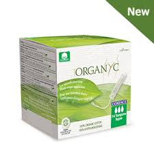 Organ(y)c 100% organic cotton tampons with bio based <b>Compact</b> ...
