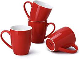 2020 popular 1 trends in home & garden, home appliances, jewelry & accessories, lights & lighting with red coffee cups and 1. Amazon Com Red Coffee Mugs