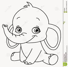 Small Picture Free Printable Elephant Coloring Pages For Kids At esonme
