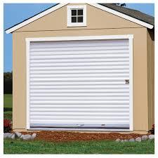 6 ft 6 in w x 6 ft 4in h steel roll up door