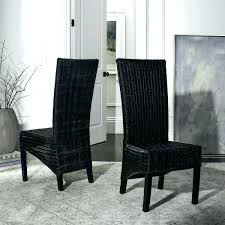 safavieh dining chairs dining room chairs best woven dining chairs rural woven dining st wicker black