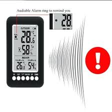 remote outdoor thermometer digital wireless hygrometer indoor with sensors sensor