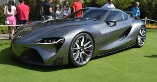 Toyota Sports Car Concept In Monterey