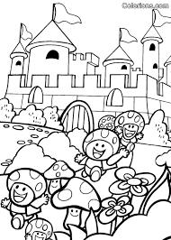 Group Of Kleurplaat Mario Carnaval