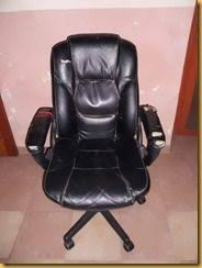 reupholster an office chair. Office Chair Before-with Tape Repairs Reupholster An