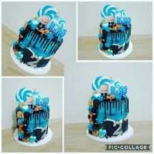 Boss Baby Drip Cake Happybirthday Bossbaby Dripcake Cookies