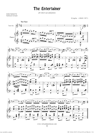 Download and print in pdf or midi free sheet music for the entertainer by scott joplin arranged by shanwan for saxophone (alto) (woodwind duet). Pin On Music