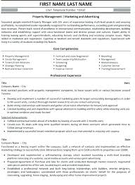 Property Manager Sample Resume Awesome Sample Resume For Property Management Job Also Assistant Property