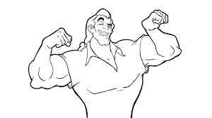 Small Picture Coloring Pages Gaston Maxvision