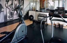 cambridge suites toronto rooftop fitness centre
