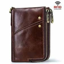 new women genuine leather wallets long coin purse korean simple clutch tri fold multifunctional credit card holder
