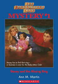 Stacey And The Missing Ring The Baby Sitters Club Wiki Fandom